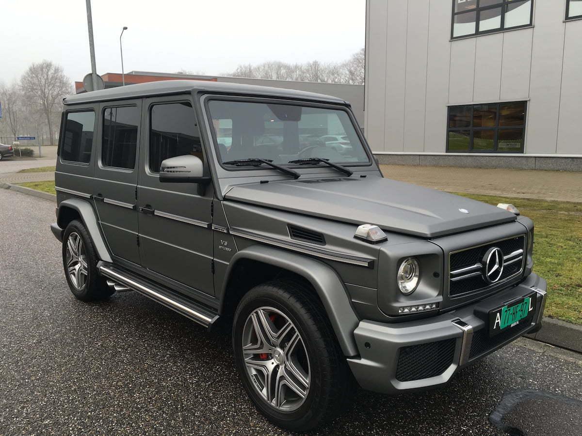 CarWrap Mercedes