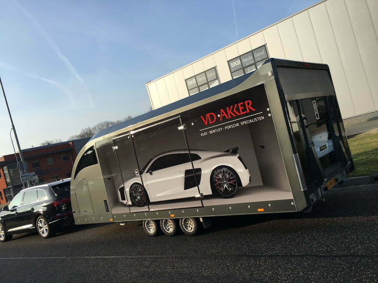 Aanhanger wrapping Eindhoven
