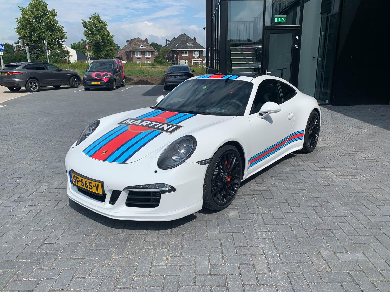 Wrap Porsche 911 Martini