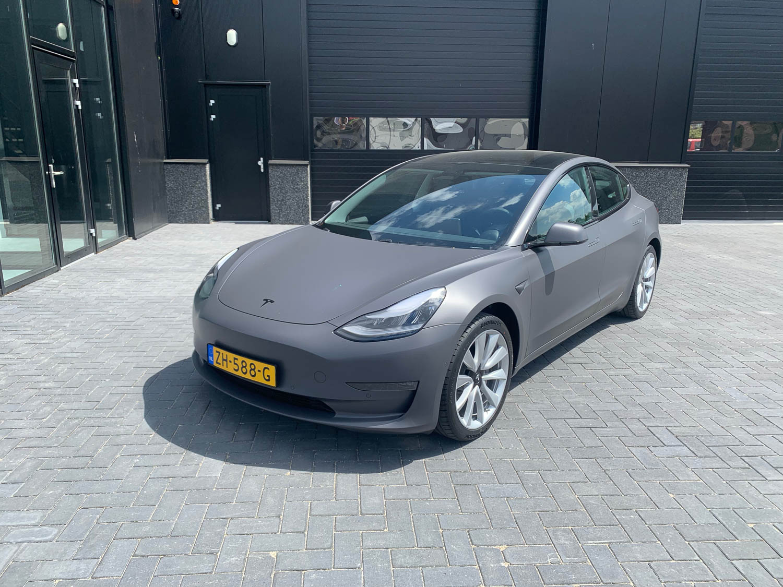 Wrap Tesla